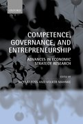 Cover for Competence, Governance, and Entrepreneurship