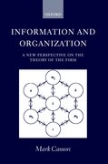 Cover for Information and Organization