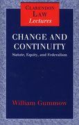 Cover for Change and Continuity
