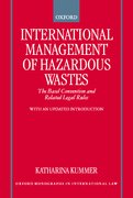 Cover for International Management of Hazardous Wastes