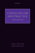 Cover for Consular Law and Practice