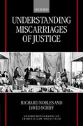 Cover for Understanding Miscarriages of Justice