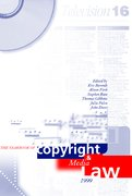 Cover for Yearbook of Copyright and Media Law