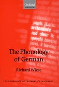 Cover for The Phonology of German