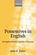 Cover for Possessives in English