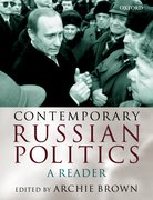 Cover for Contemporary Russian Politics