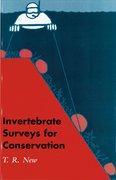 Cover for Invertebrate Surveys for Conservation