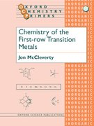 Cover for Chemistry of the First Row Transition Metals