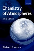 Cover for Chemistry of Atmospheres