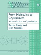 Cover for From Molecules to Crystallizers
