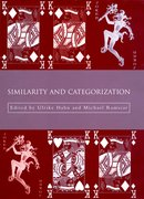 Cover for Similarity and Categorization