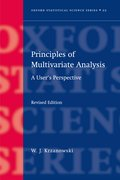 Cover for Principles of Multivariate Analysis