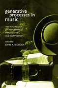 Cover for Generative Processes in Music