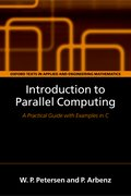 Cover for Introduction to Parallel Computing