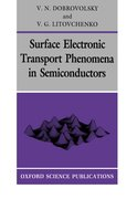 Cover for Surface Electronic Transport Phenomena in Semiconductors