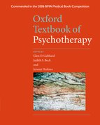 Cover for Oxford Textbook of Psychotherapy