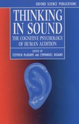 Cover for Thinking in Sound