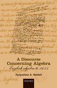 Cover for A Discourse Concerning Algebra