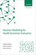 Cover for Decision Modelling for Health Economic Evaluation