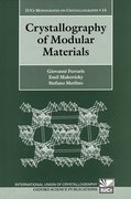 Cover for Crystallography of Modular Materials
