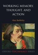 Cover for Working Memory, Thought, and Action