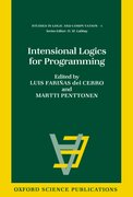 Cover for Intensional Logics for Programming