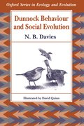 Cover for Dunnock Behaviour and Social Evolution