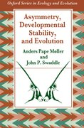 Cover for Asymmetry, Developmental Stability and Evolution