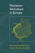 Cover for Plantation Silviculture in Europe