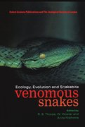 Cover for Venomous Snakes