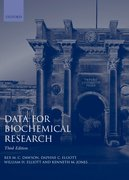 Cover for Data for Biochemical Research