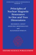 Cover for Principles of Nuclear Magnetic Resonance in One and Two Dimensions