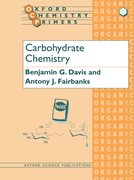 Cover for Carbohydrate Chemistry