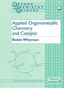Cover for Applied Organometallic Chemistry and Catalysis