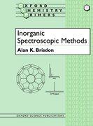 Cover for Inorganic Spectroscopic Methods