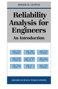 Cover for Reliability Analysis for Engineers