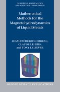Cover for Mathematical Methods for the Magnetohydrodynamics of Liquid Metals