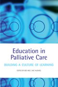 Cover for Education in Palliative Care