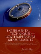 Cover for Experimental Techniques for Low-Temperature Measurements