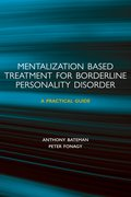 Cover for Mentalization-based Treatment for Borderline Personality Disorder