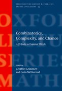 Cover for Combinatorics, Complexity, and Chance