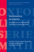 Cover for Mathematical Geophysics