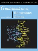 Cover for Guidebook to the Homeobox Genes