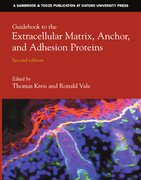 Cover for Guidebook to the Extracellular Matrix, Anchor and Adhesion Proteins