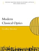 Cover for Modern Classical Optics