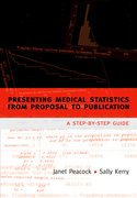 Cover for Presenting medical statistics from proposal to publication