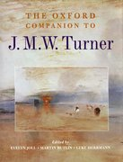 Cover for The Oxford Companion to J. M. W. Turner