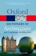 Cover for A Dictionary of Architecture and Landscape Architecture