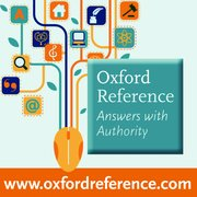 Cover for Oxford Reference Online