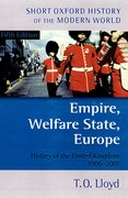 Cover for Empire, Welfare State, Europe